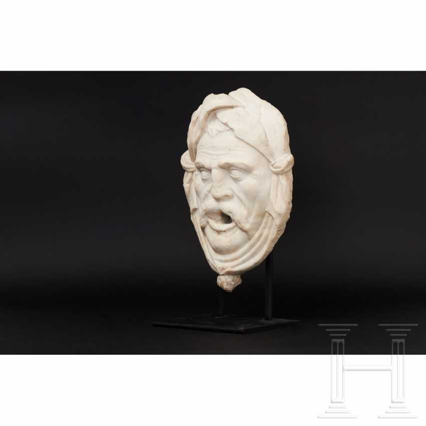 Fountain mask made of marble, Italy, 16./17. century - photo 4