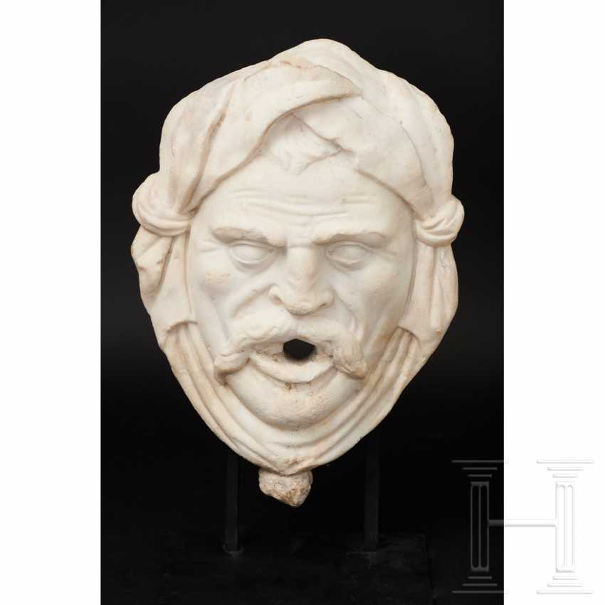 Fountain mask made of marble, Italy, 16./17. century - photo 9