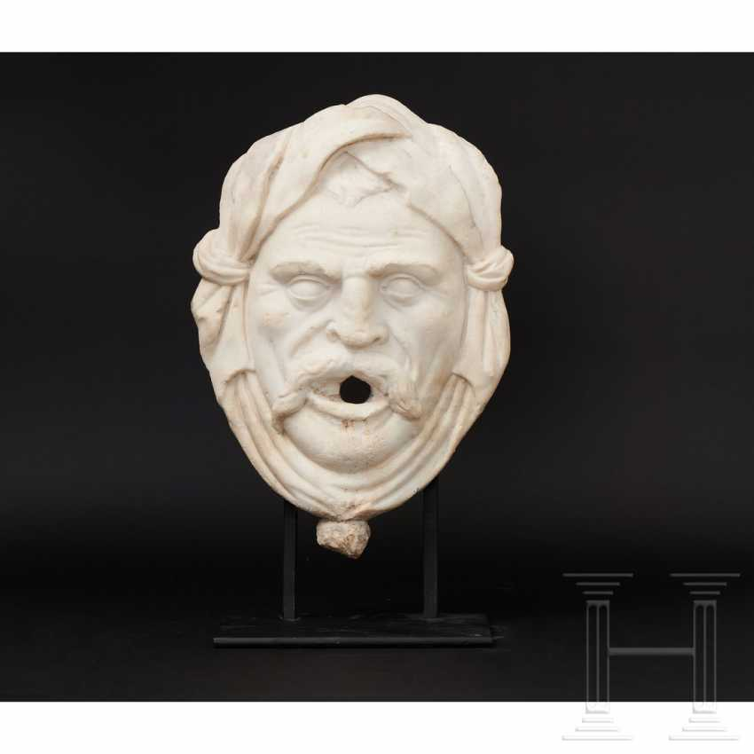 Fountain mask made of marble, Italy, 16./17. century - photo 10