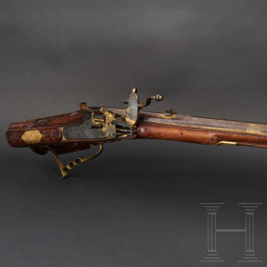 Luxury wheel lock rifle, Matthias Kubik in Prague, dated 1727 - photo 1