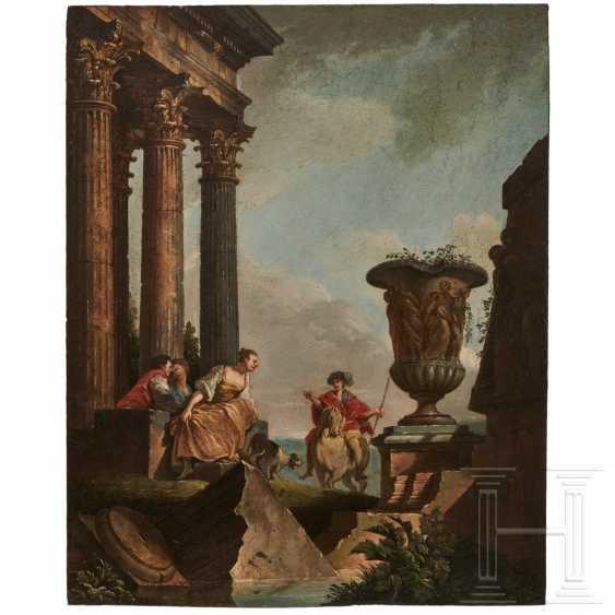 Pendant Paintings, Italy, dat. 1756 - photo 1