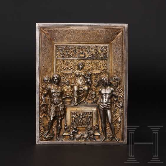 Gilded silver plaque, probably Italy, 19th century - photo 1