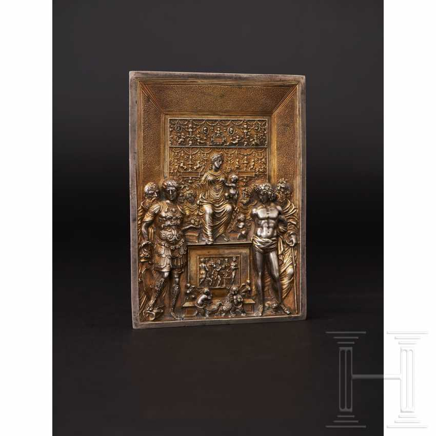 Gilded silver plaque, probably Italy, 19th century - photo 2