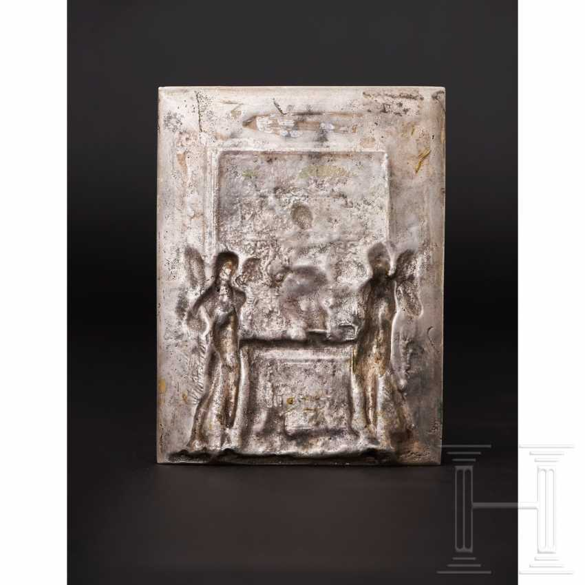 Gilded silver plaque, probably Italy, 19th century - photo 4