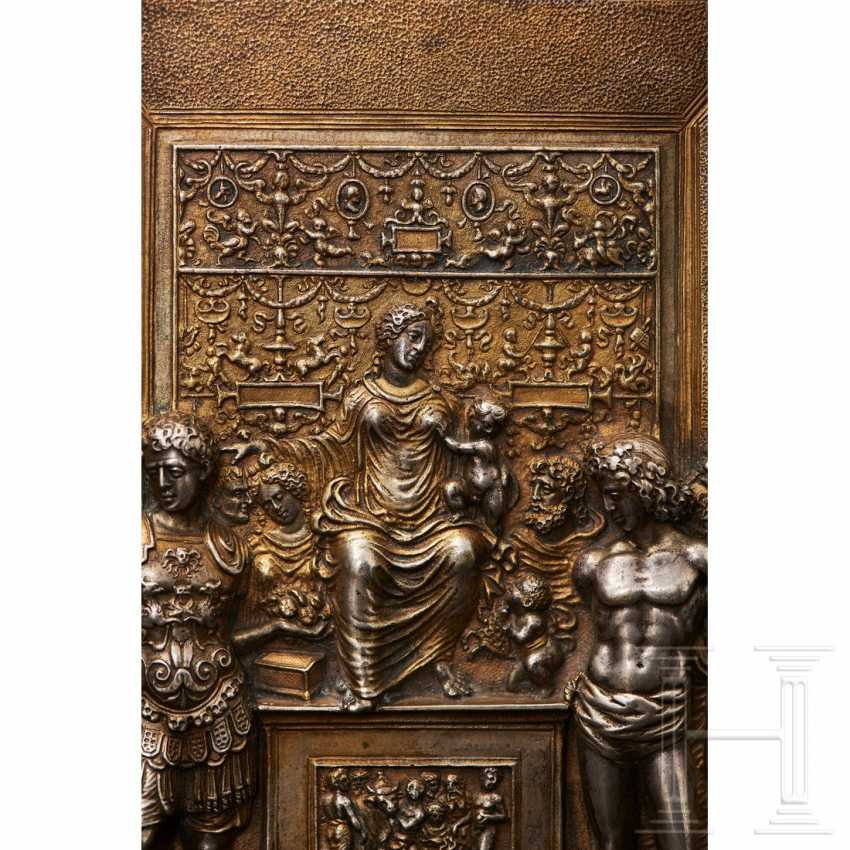 Gilded silver plaque, probably Italy, 19th century - photo 5