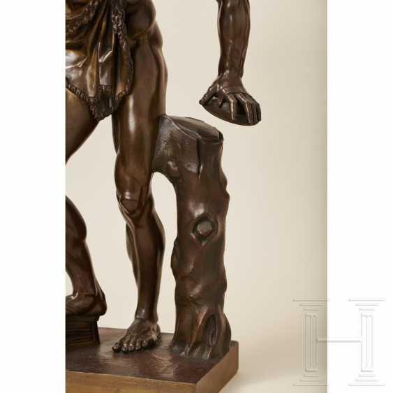 """Dancing Faun"" - neoclassical bronze, Italy, 19th century - photo 7"