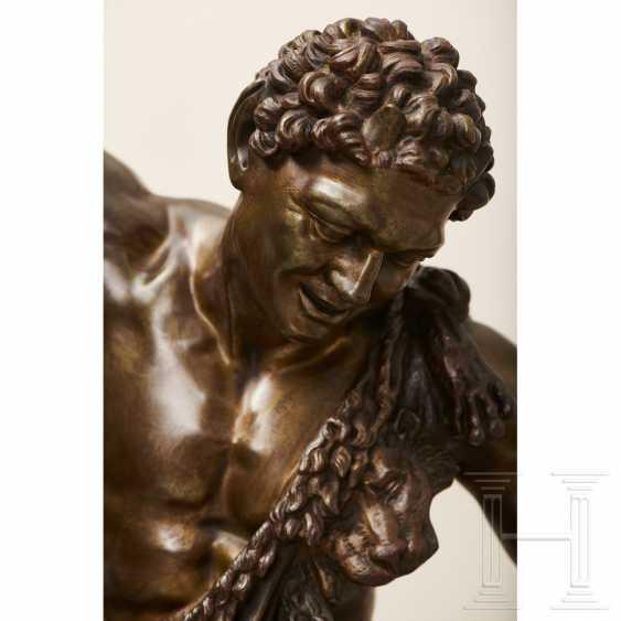 """Dancing Faun"" - neoclassical bronze, Italy, 19th century - photo 9"