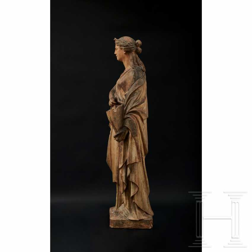 Terracotta statue of Terpsichore, Austria, 2nd half of the 19th century - photo 2