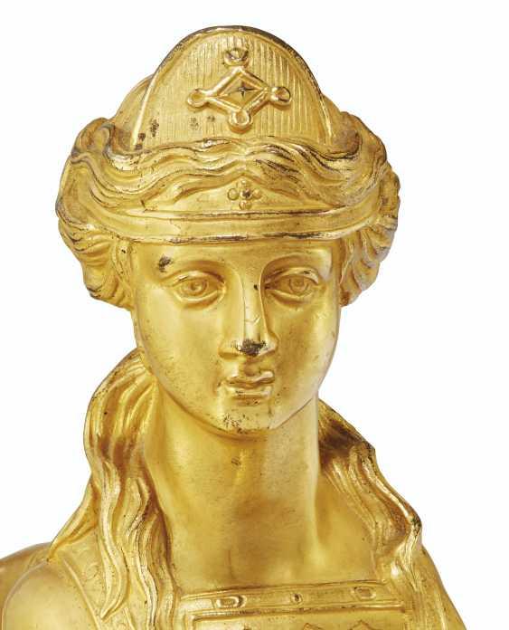 A PAIR OF NAPOLEON III ORMOLU CHENETS - photo 2