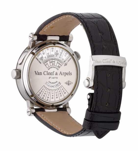 VAN CLEEF & ARPELS, MONSIEUR ARPELS, DUAL TIME GENERATION CALENDAR, NO. 145776 - photo 3