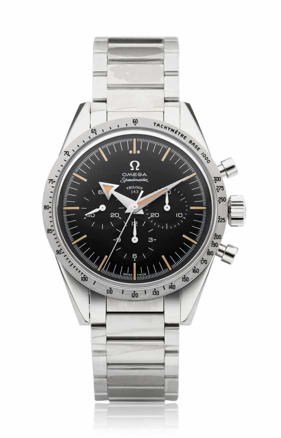 OMEGA, 1957 TRILOGY SET, SPEEDMASTER, SEAMASTER 300, RAILMASTER, 60TH ANNIVERSARY LIMITED EDITION NO. 153 OF 557 - photo 4