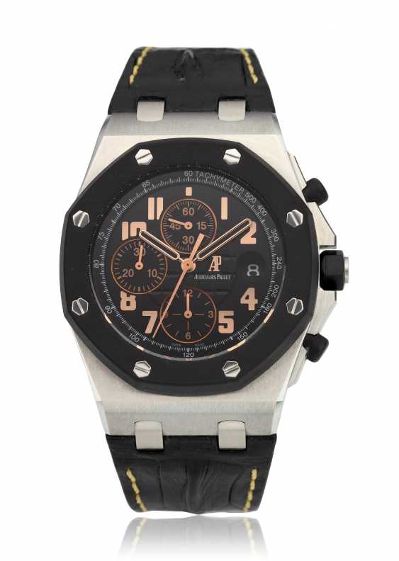 AUDEMARS PIGUET, ROYAL OAK OFFSHORE, 57TH STREET BOUTIQUE LIMITED EDITION CHRONOGRAPH, NO. 5 OF 250, Ref. 26298SK.OO.D101CR.01 - photo 1