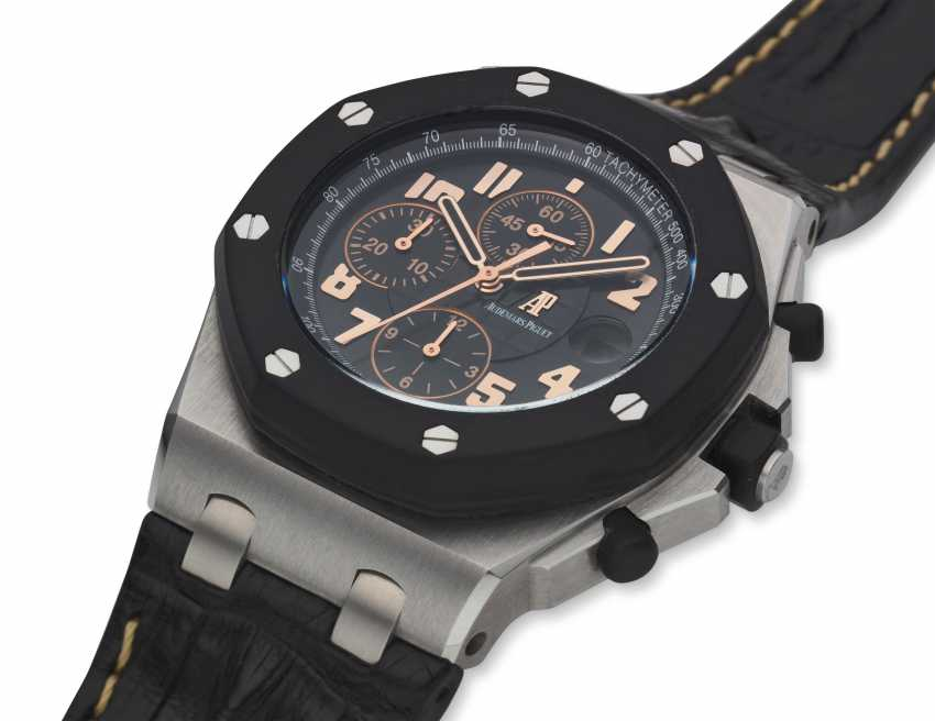 AUDEMARS PIGUET, ROYAL OAK OFFSHORE, 57TH STREET BOUTIQUE LIMITED EDITION CHRONOGRAPH, NO. 5 OF 250, Ref. 26298SK.OO.D101CR.01 - photo 2