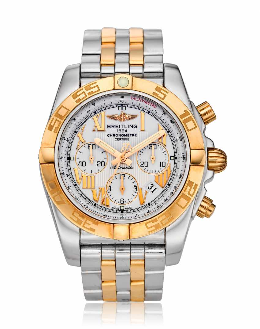 BREITLING, TWO-TONE CHRONOMAT, REF. CB011012/A692 - photo 1
