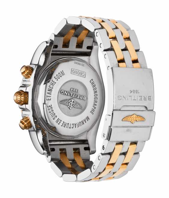BREITLING, TWO-TONE CHRONOMAT, REF. CB011012/A692 - photo 2
