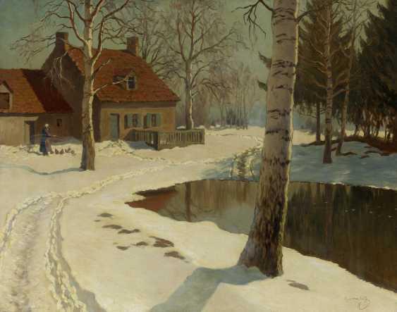 Village in the Snow - photo 1