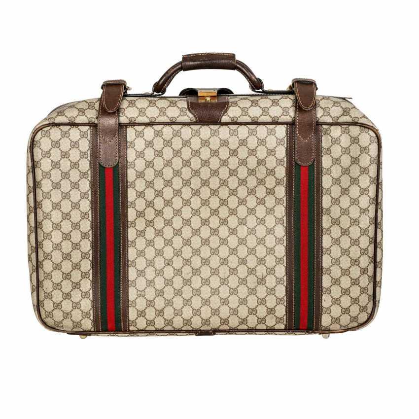 GUCCI VINTAGE travel bag. - photo 4