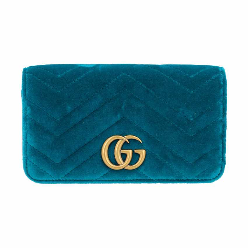 "GUCCI Mini Pochette ""STOPPED CLUTCH"", current new price: 1,400 €. - photo 1"