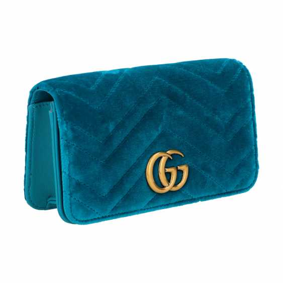 "GUCCI Mini Pochette ""STOPPED CLUTCH"", current new price: 1,400 €. - photo 2"
