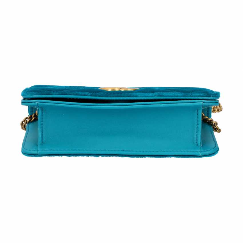 "GUCCI Mini Pochette ""STOPPED CLUTCH"", current new price: 1,400 €. - photo 5"