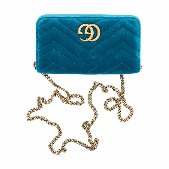 "GUCCI Mini Pochette ""STOPPED CLUTCH"", current new price: 1,400 €. - photo 6"