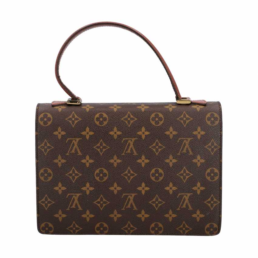 "LOUIS VUITTON VINTAGE shoulder bag ""MONCEAU"", collection 1998. - photo 4"