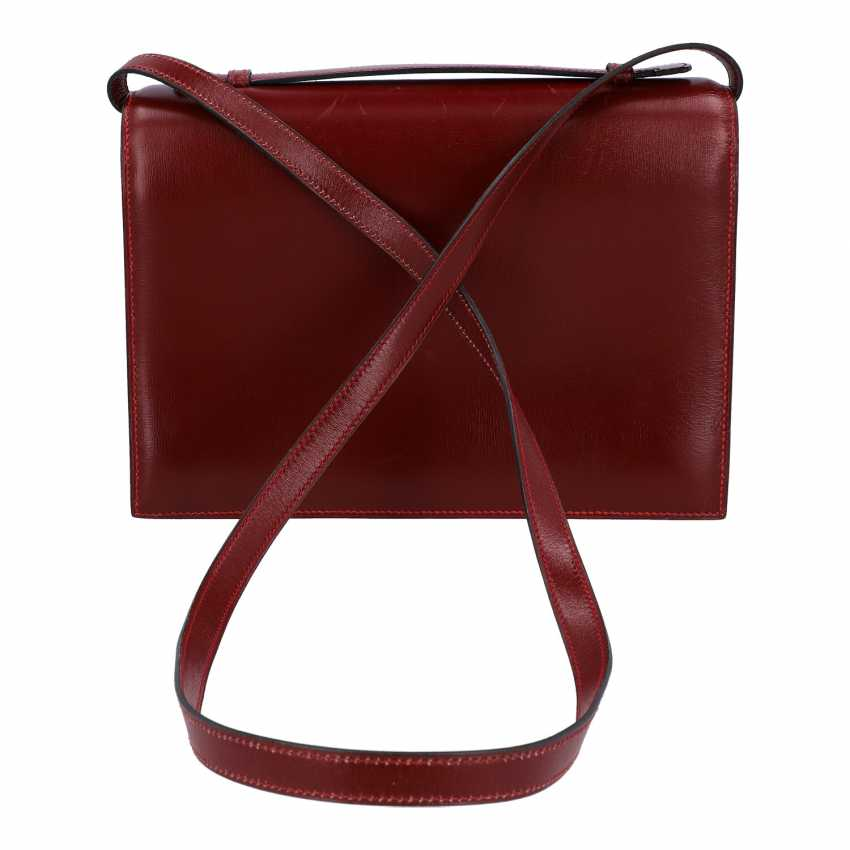 "HERMÈS VINTAGE shoulder bag / clutch ""SAC A DEPECHE 24"". - photo 4"
