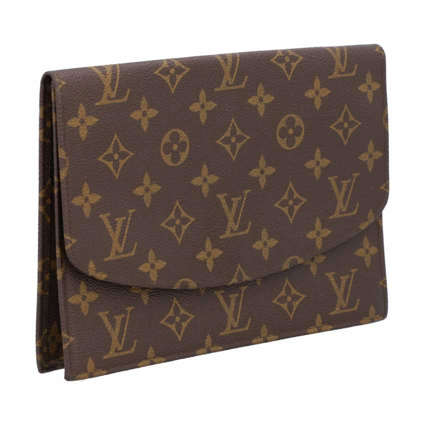 "LOUIS VUITTON VINTAGE Clutch ""DISCOUNT"", Collection: 1991. - photo 2"