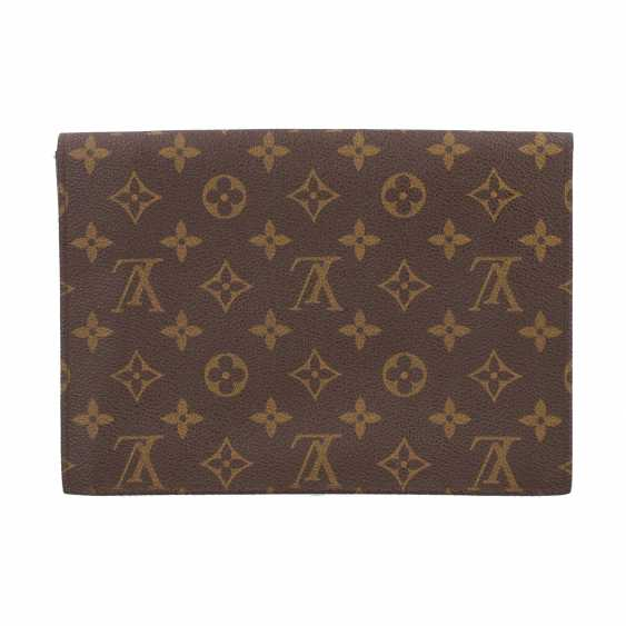 "LOUIS VUITTON VINTAGE Clutch ""DISCOUNT"", Collection: 1991. - photo 4"