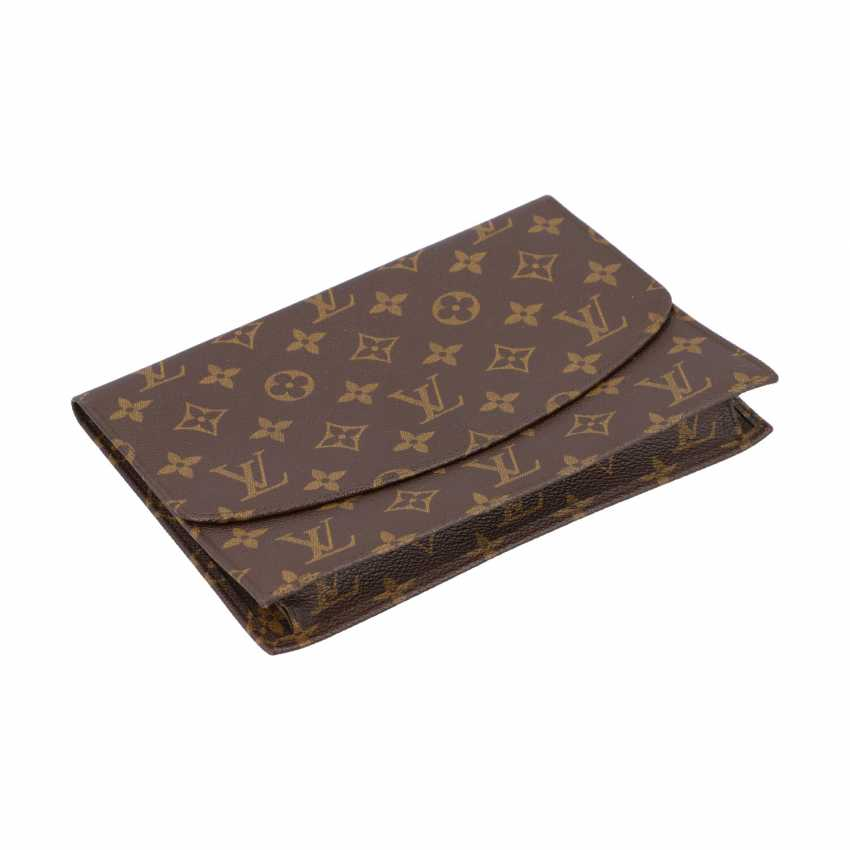 "LOUIS VUITTON VINTAGE Clutch ""DISCOUNT"", Collection: 1991. - photo 5"