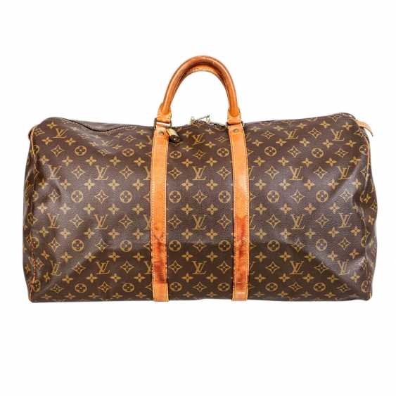 """LOUIS VUITTON VINTAGE Weekends """"KEEPALL 55"""", Collection 1989. - photo 1"""