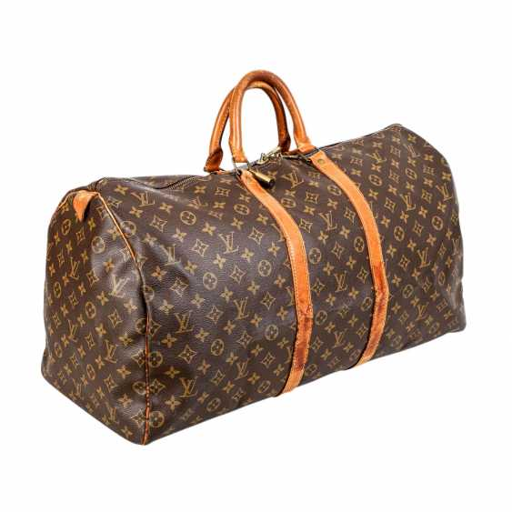 """LOUIS VUITTON VINTAGE Weekends """"KEEPALL 55"""", Collection 1989. - photo 2"""