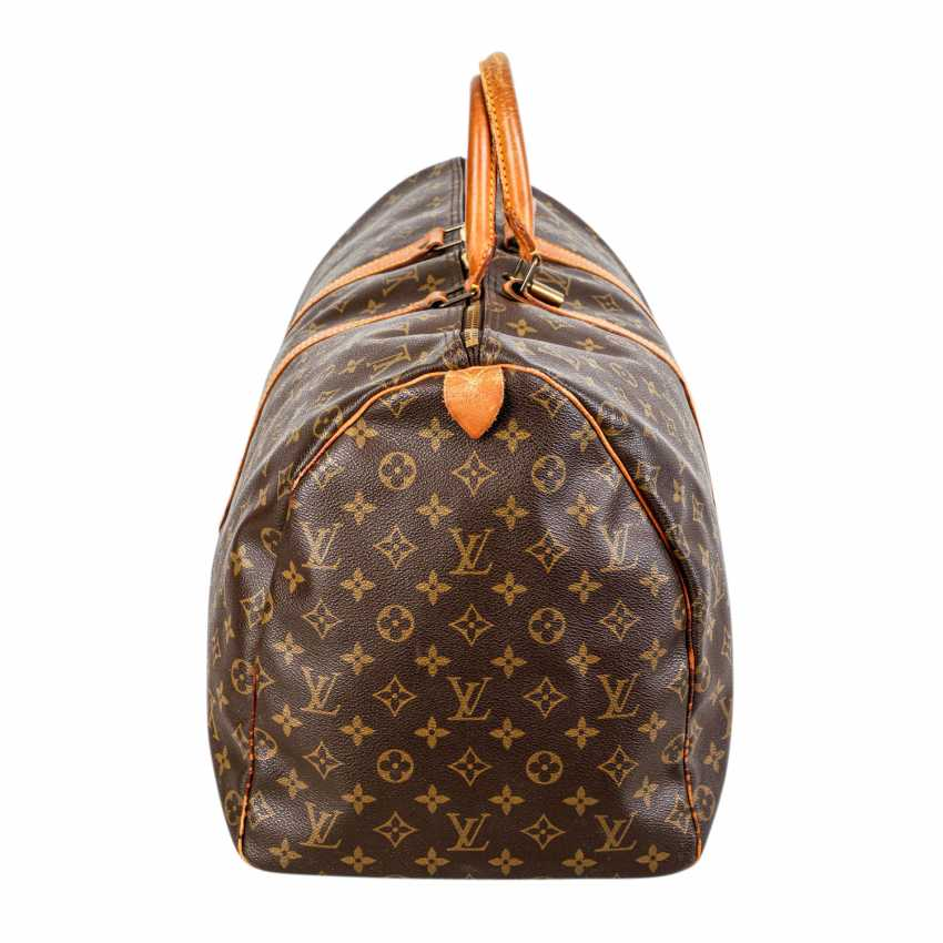 """LOUIS VUITTON VINTAGE Weekends """"KEEPALL 55"""", Collection 1989. - photo 3"""