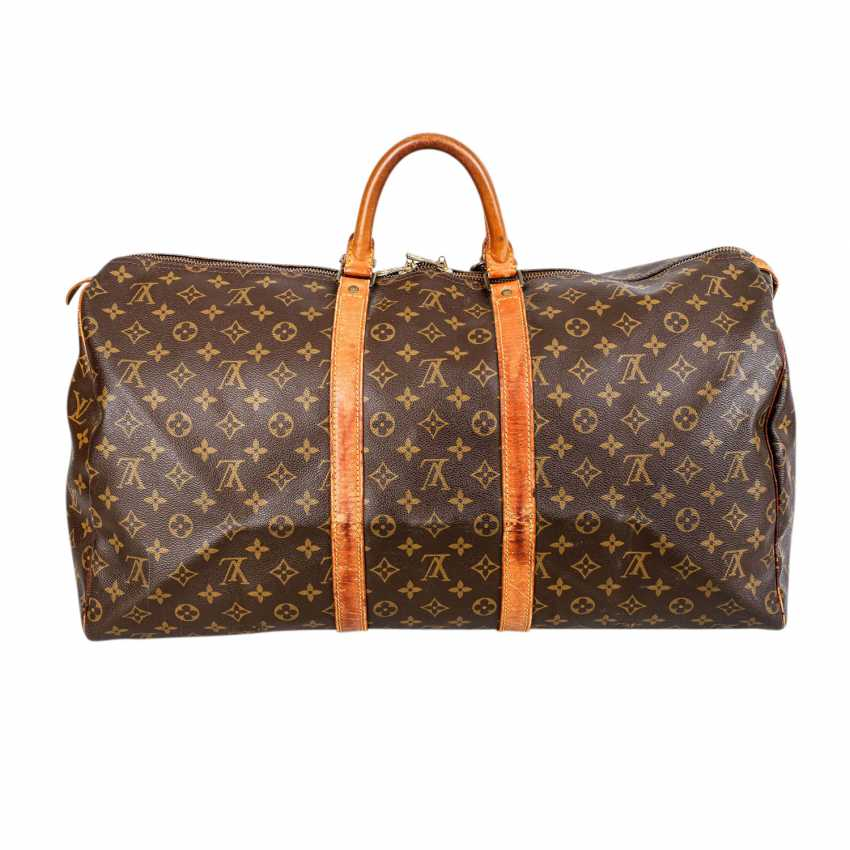 """LOUIS VUITTON VINTAGE Weekends """"KEEPALL 55"""", Collection 1989. - photo 4"""