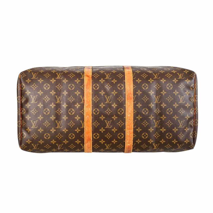 """LOUIS VUITTON VINTAGE Weekends """"KEEPALL 55"""", Collection 1989. - photo 5"""