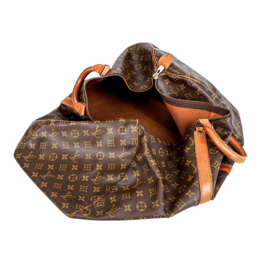"""LOUIS VUITTON VINTAGE Weekends """"KEEPALL 55"""", Collection 1989. - photo 6"""