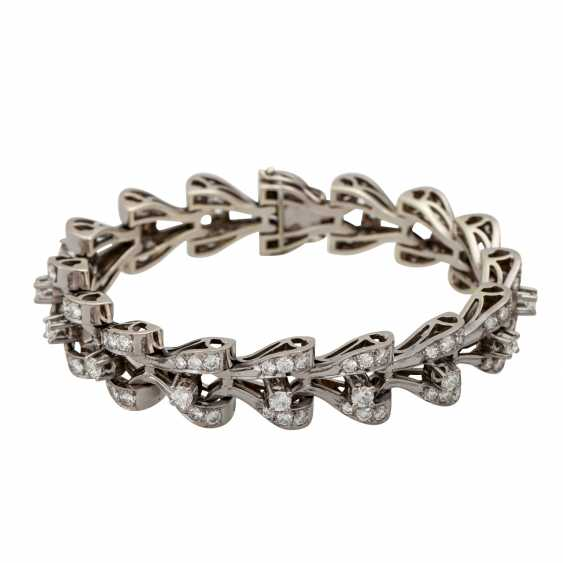 Bracelet with diamonds totaling approx. 8.9 ct, - photo 1