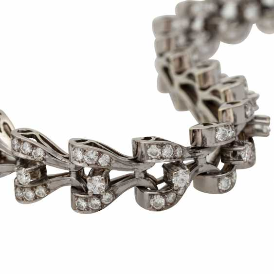 Bracelet with diamonds totaling approx. 8.9 ct, - photo 5