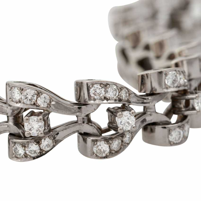 Bracelet with diamonds totaling approx. 8.9 ct, - photo 6