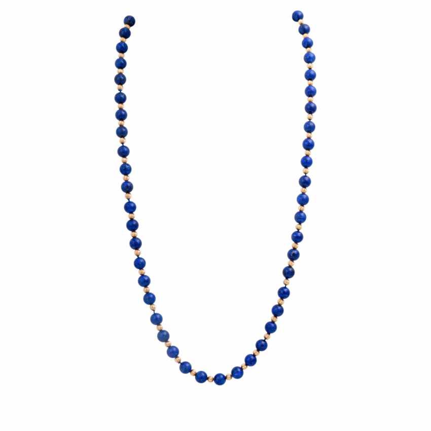 Lapilazuli chain with intermediate parts - photo 1