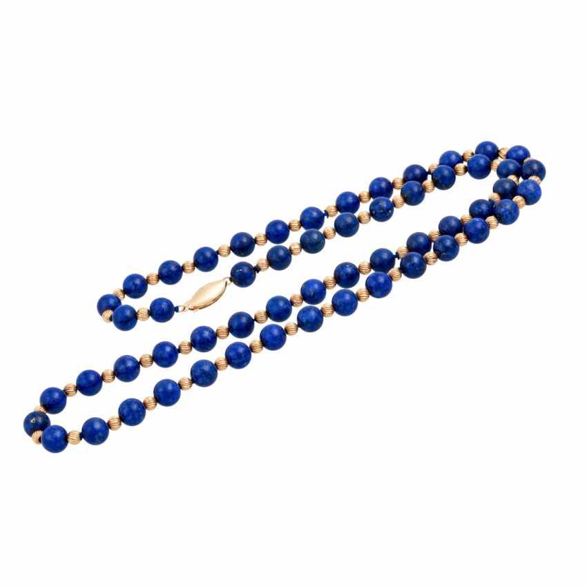 Lapilazuli chain with intermediate parts - photo 3