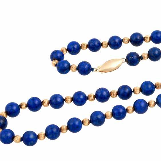 Lapilazuli chain with intermediate parts - photo 4