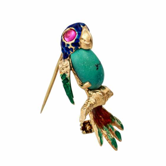 """Fantasy bird"" brooch - photo 2"