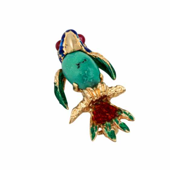 """Fantasy bird"" brooch - photo 4"