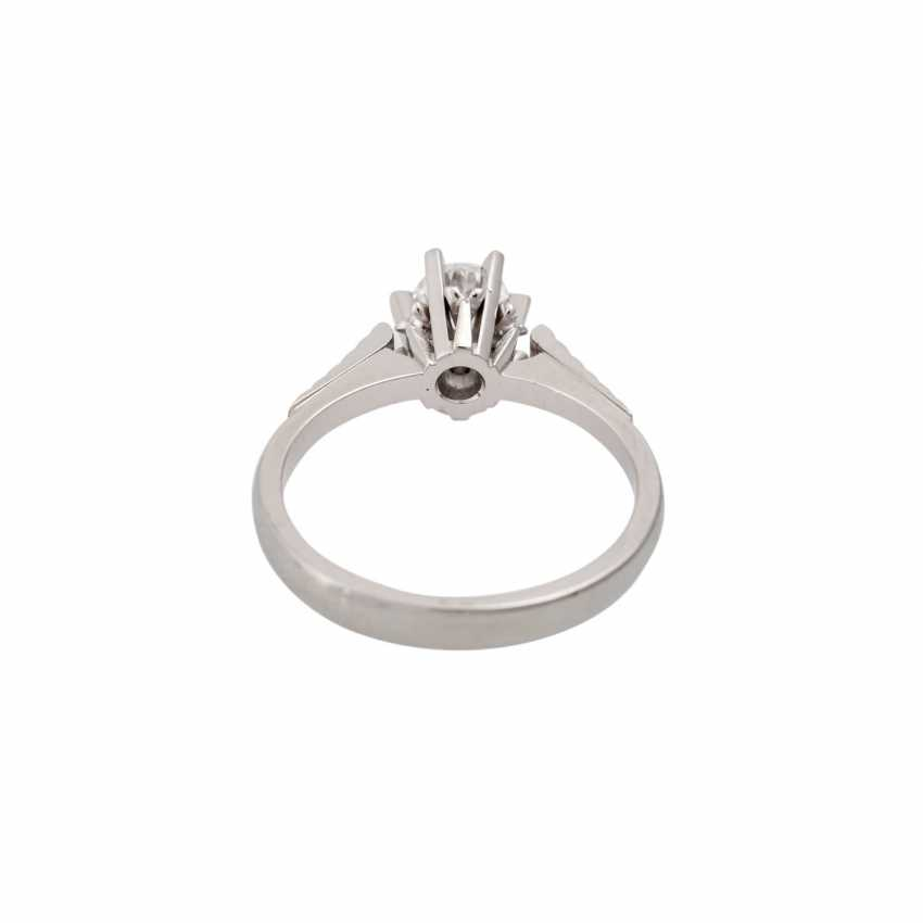 Brilliant Solitaire ring approx. 0.5 ct, - photo 4