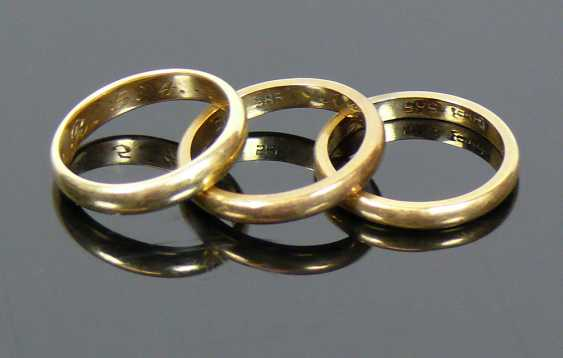 3 wedding rings - photo 1