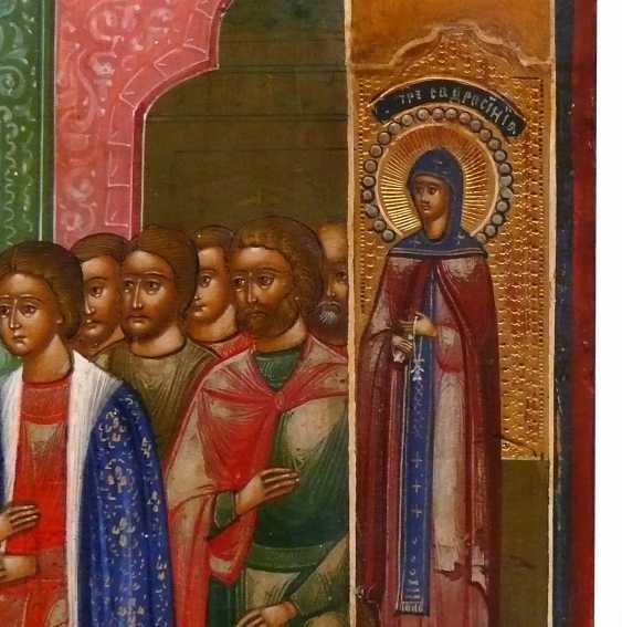Icon `` Exaltation of the True Cross '' - photo 3