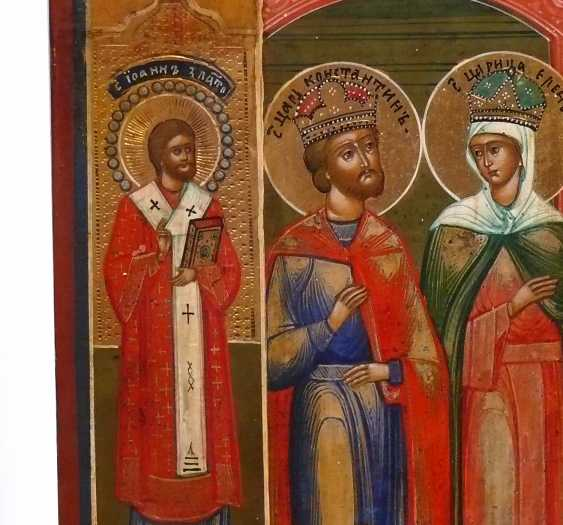 Icon `` Exaltation of the True Cross '' - photo 4