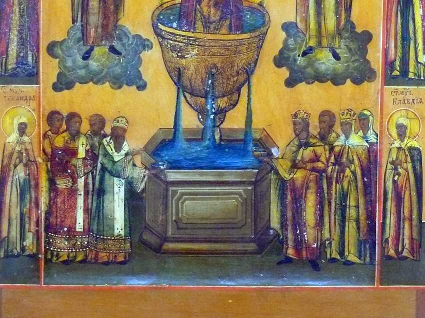 Icon '' Mother of God '' - photo 2