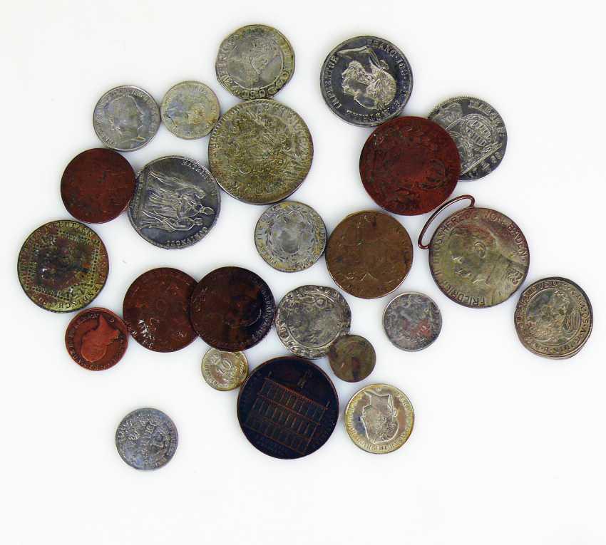 Mixed lot of various coins - photo 1